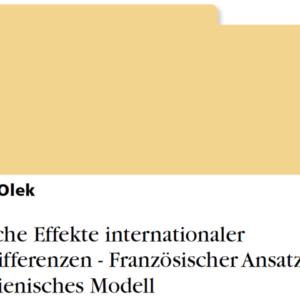 Buch über Thomas Oleks Vermögen